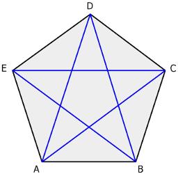 fuenfeck geometrie rechner