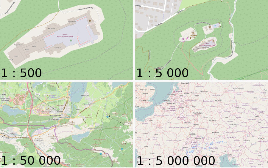 Calculate the Map Size on a Monitor